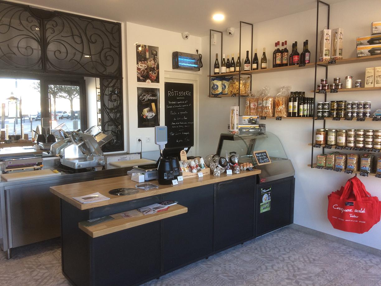 EDCP Réalisation d'une Épicerie à Blois 1